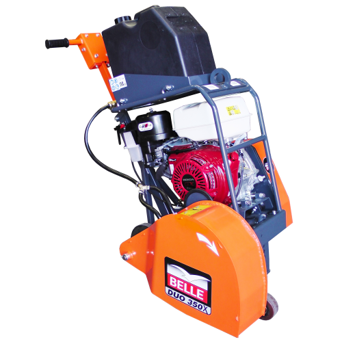 "Belle DUO 350X 14"" Twin Blade Petrol Floorsaw for Micro-Trenching"