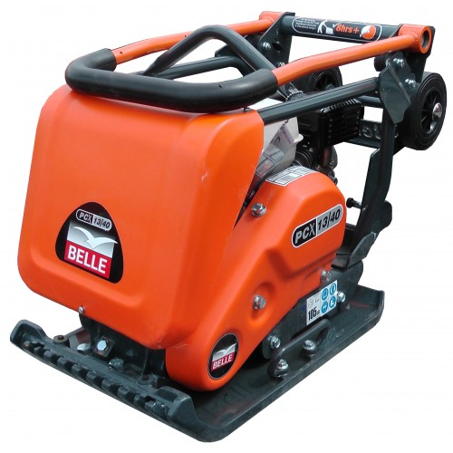 Belle PCX1340 Low Vib Plate Compactor with Honda Petrol Engine 400 x 606mm