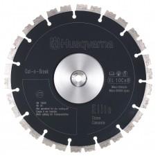 Husqvarna EL10CNB Professional Cut-N-Break Diamond Blade Set for Hard Concrete - 574836201